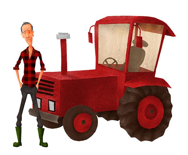 Corso - Tractor en De Groot