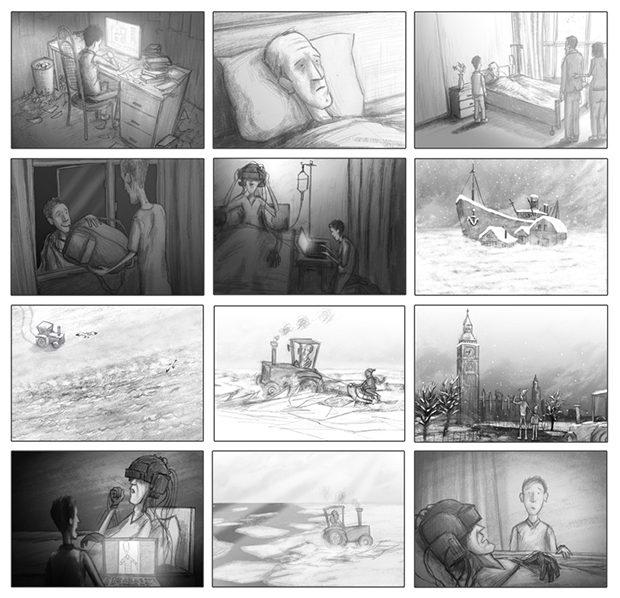Corso - storyboard page