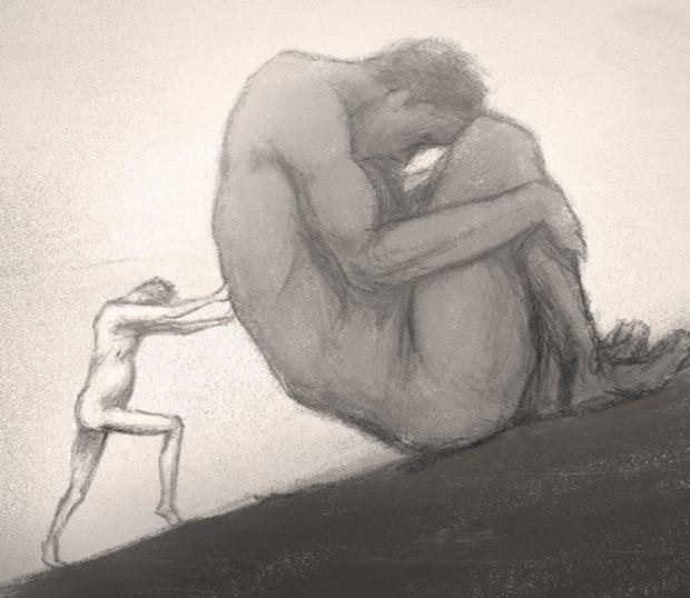 Sisyphus - schetsfase